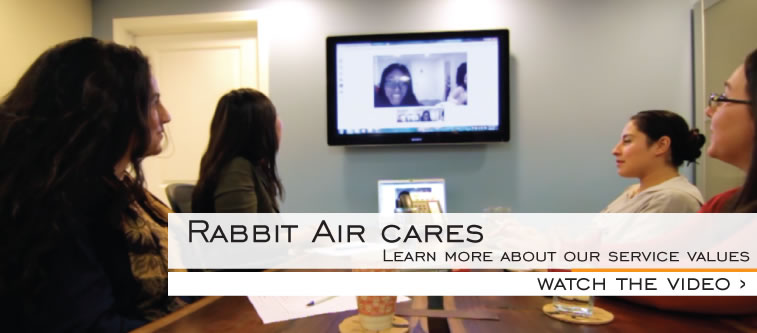 Rabbit Air Customer Cares