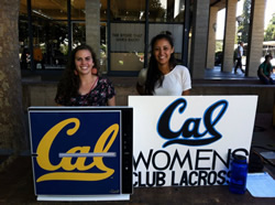 Cal Women's Lacrosse Team
