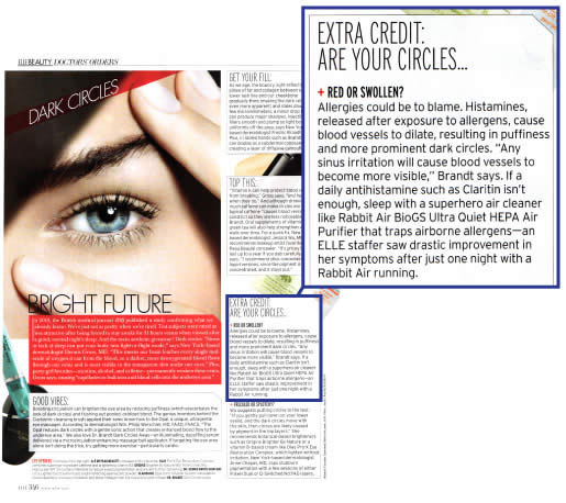 Rabbit Air in ELLE magazine!
