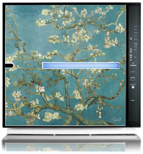 MinusA2 Artists Series Edition HEPA Air Purifier - Almond Blossom