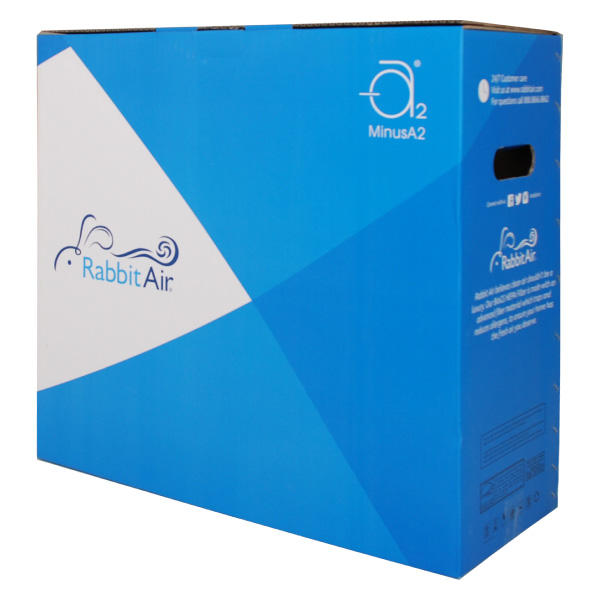minusa2 hepa air purifier box