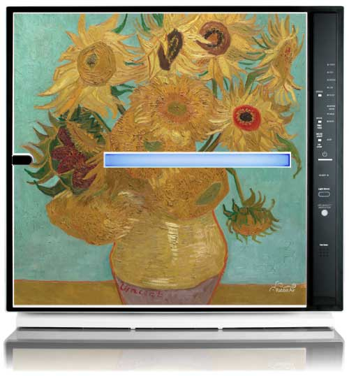 MinusA2 Artists Series Edition HEPA Air Purifier - Sunflowers