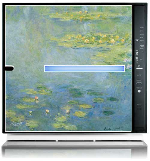 MinusA2 Artists Series Edition HEPA Air Purifier - Water Lilies