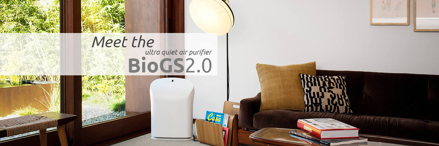 Meet the Ultra Quiet BioGS 2.0 Air Purifier