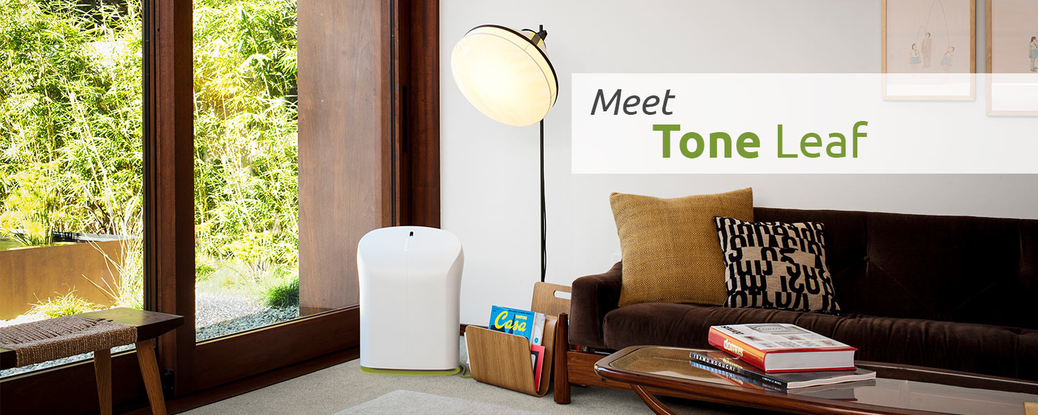 BioGS 2.0 Tone Air Purifier - Leaf