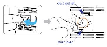 MinusA2 particle sensor area